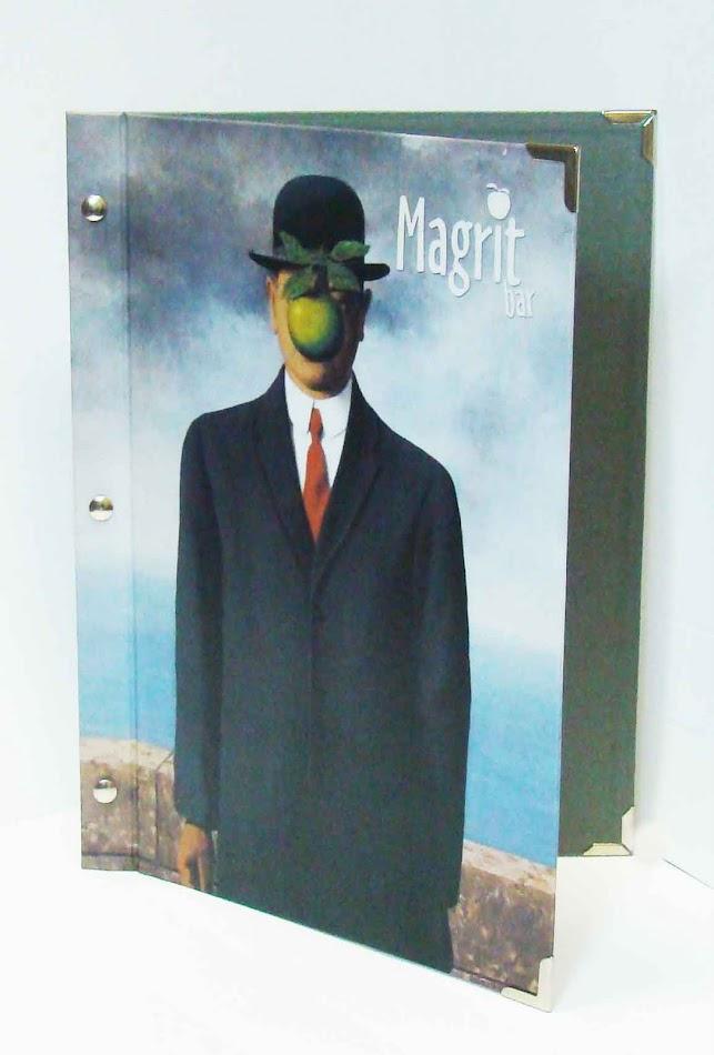 МАГРИТ-БАР. Папка из ламинированного дизайнерского картона