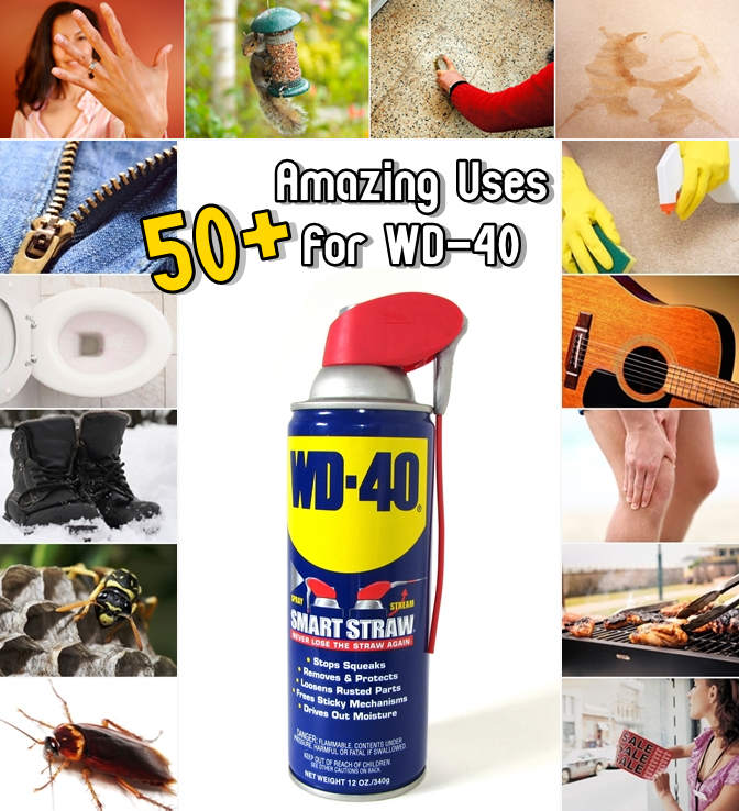 50+ Amazing Uses for WD-40