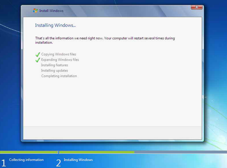 cara install ulang windows 7 tahap kelima