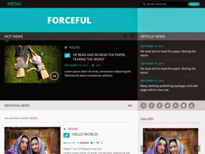 ForceFul WordPress Theme