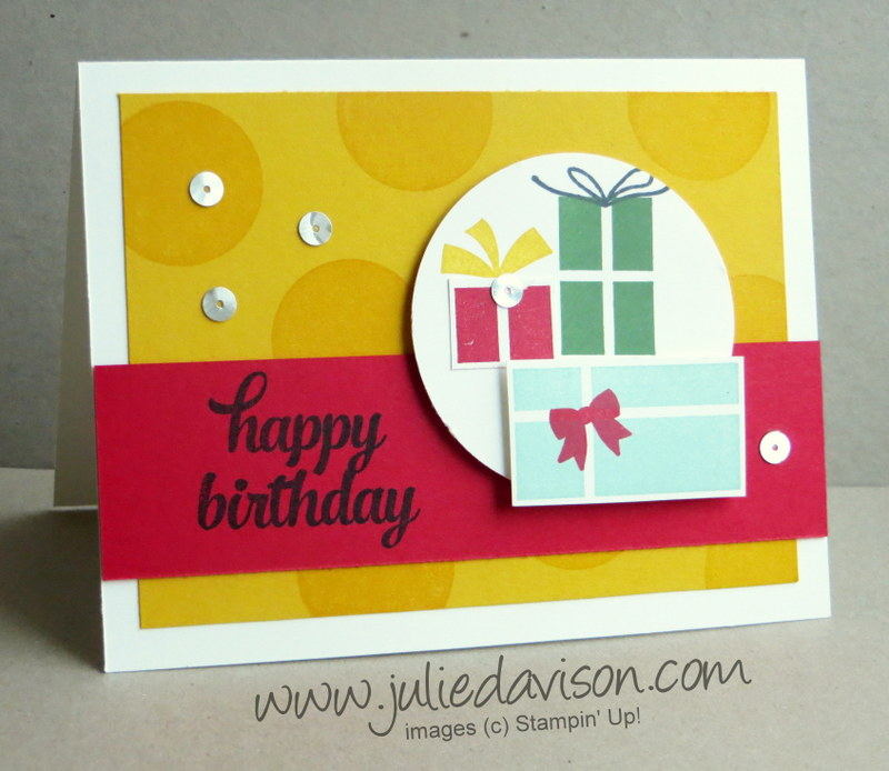 Julies Stamping Spot Stampin Up Project Ideas by Julie