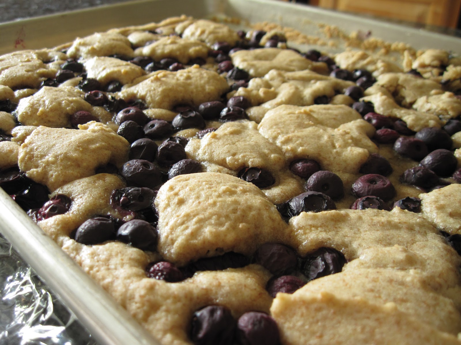 blueberry cobbler bars fresh juicy fruits and berries are some of the ...