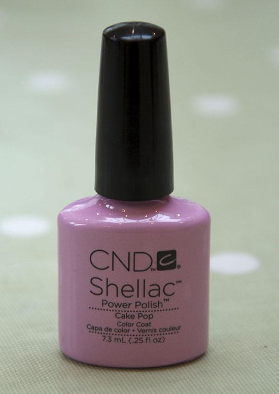 CND Shellac Cake Pop Pastel Pink Spring 2013