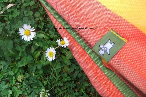 Chusta i kwiatki