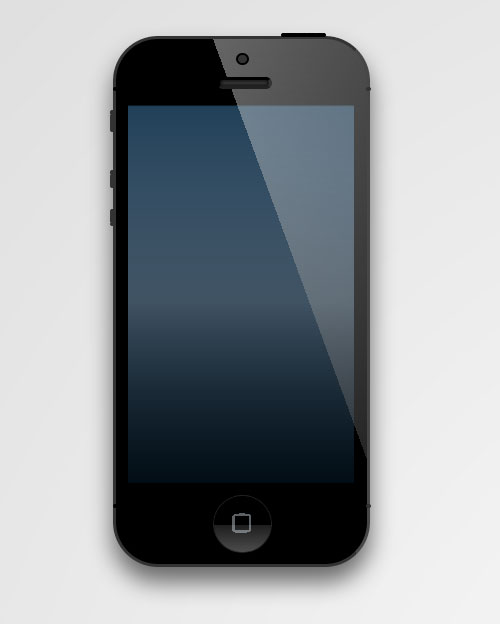 iPhone 5 Created with CSS3
