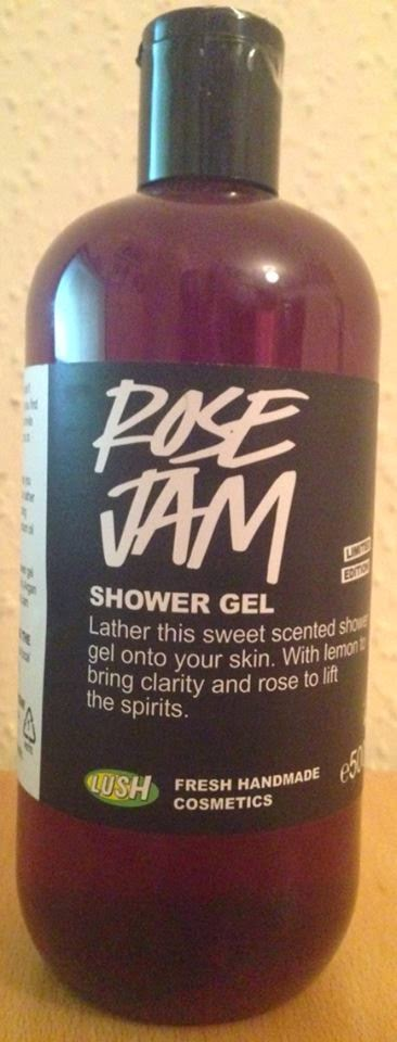 All Things Lush UK Rose Jam Shower Gel