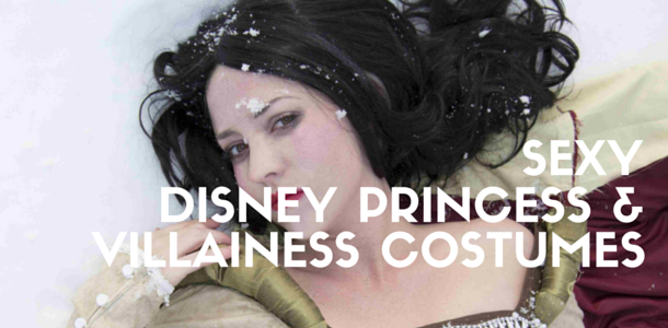 Sexy Disney Princess and Villainess Costumes for Women