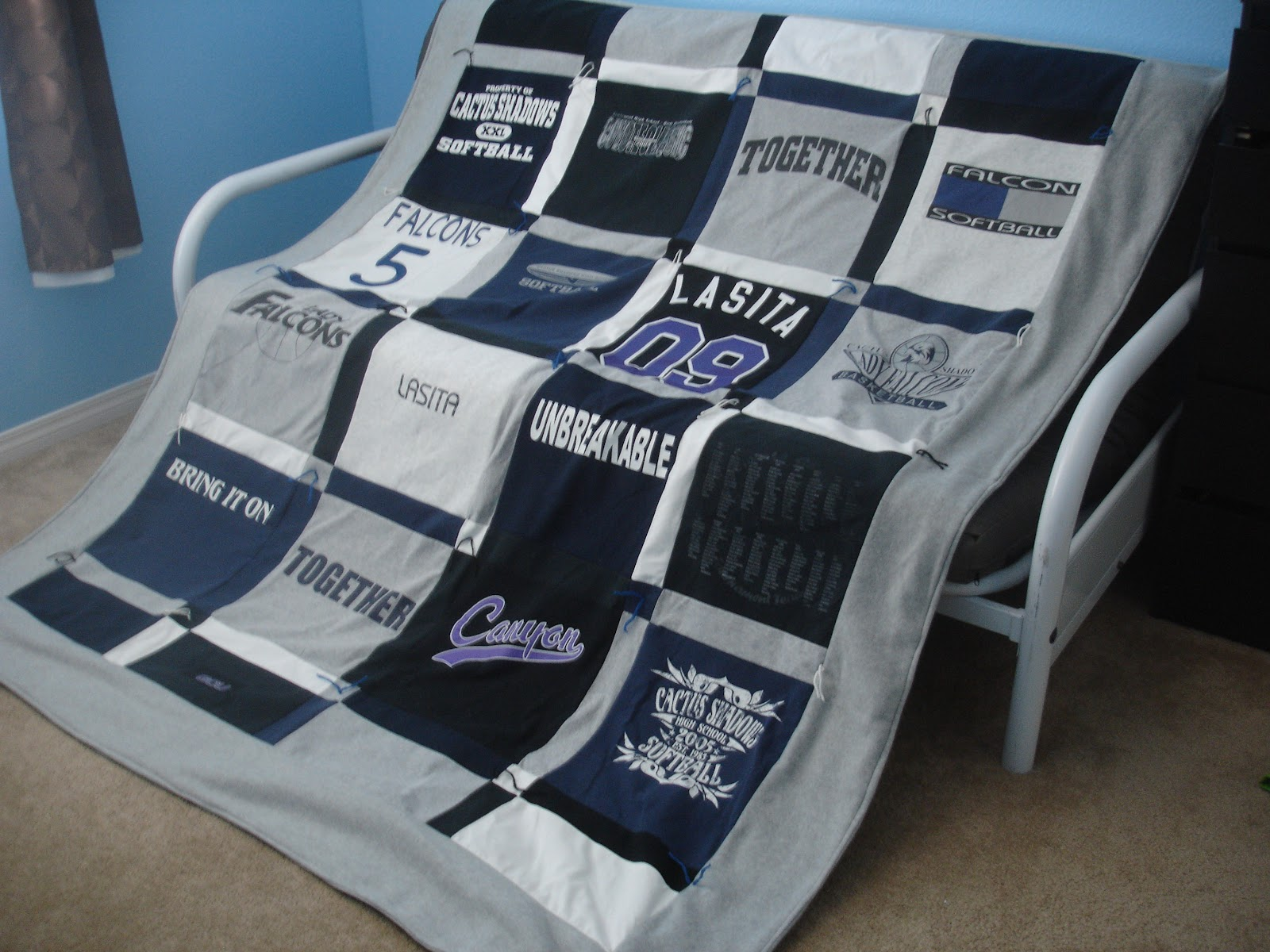 Alex Haralson: T-Shirt Quilt - How to Make Your Own : how to make your own quilt - Adamdwight.com
