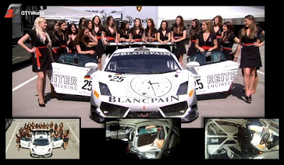 How Many Grid Girls Can You Fit in a Reiter GT1 Lamborghini?