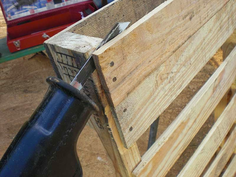 Tumbonas for Bar casero de madera