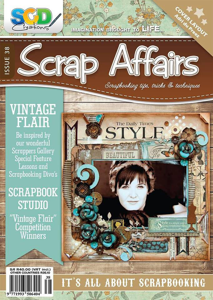 Scrap Affairs Cover Layout Issue 38