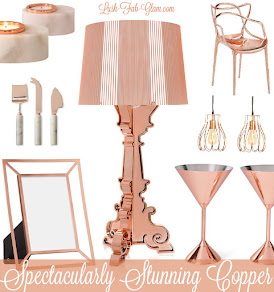 It's chic, it's stunning, it's spectacular! See how to decorate with copper.