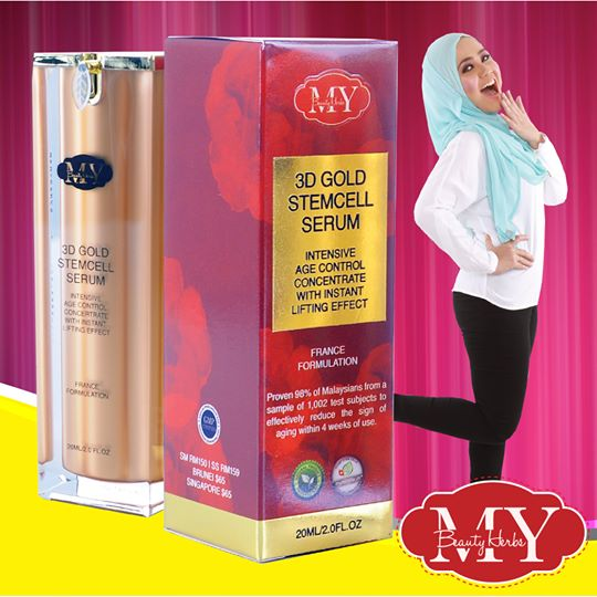3D Gold Stemcell Serum