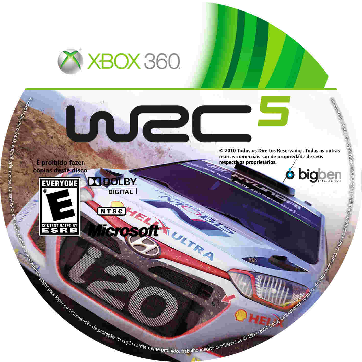 wrc 5 2015 xbox 360 giga in games. Black Bedroom Furniture Sets. Home Design Ideas