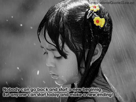 alone girl in rain quote wallpapers