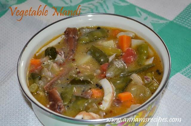 Vegetable Mandi