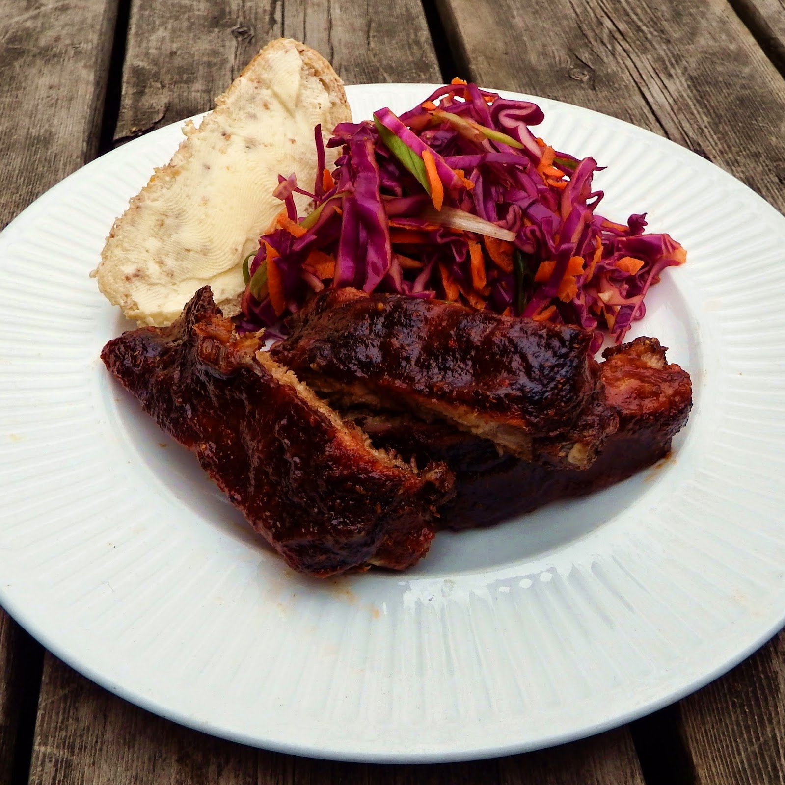 how to cook barbecue spare ribs