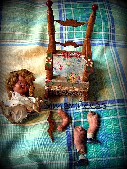 Reparar una muñeca-