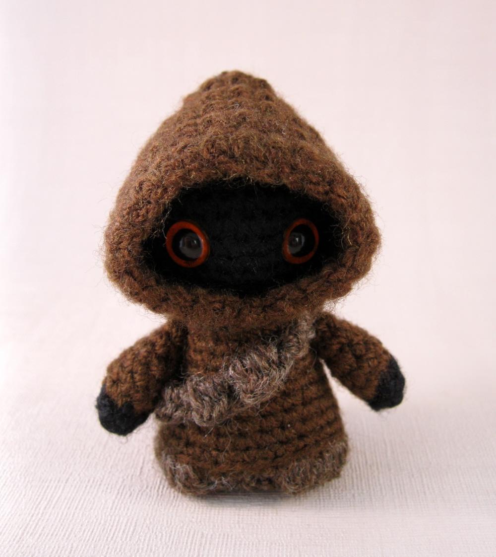 Jawa Star Wars Amigurumi : LucyRavenscar - Crochet Creatures: Utini! Its a new Jawa ...