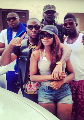 davido breaks up with new girlfriend
