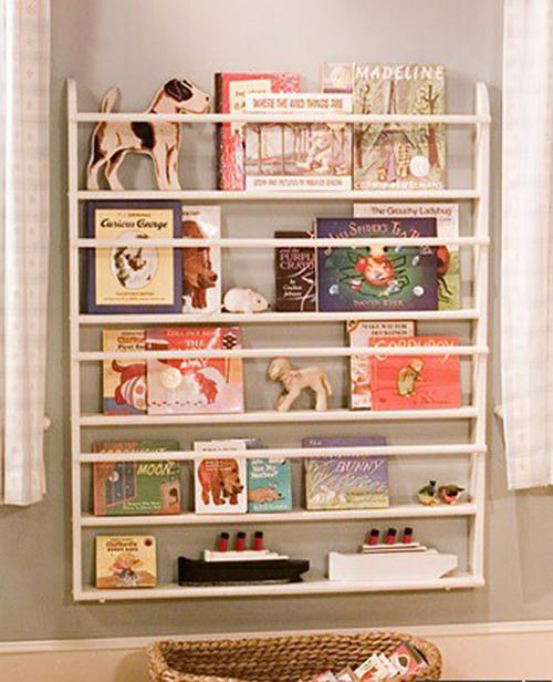 Manualidades decoraci n pintura estanter as para los - Estanterias para habitacion infantil ...