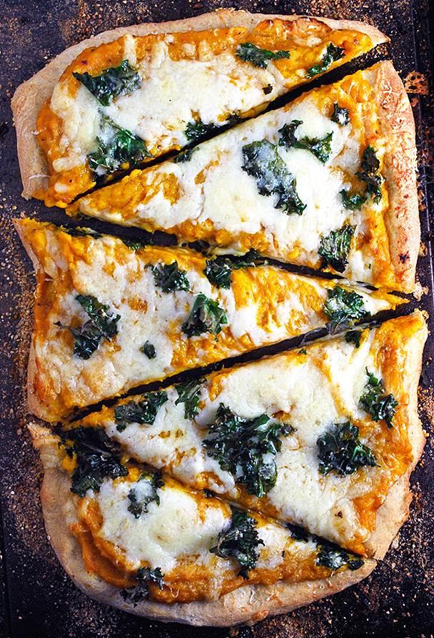 pizza cu dovleac