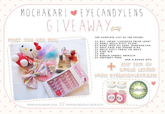 Mochakari giveaway