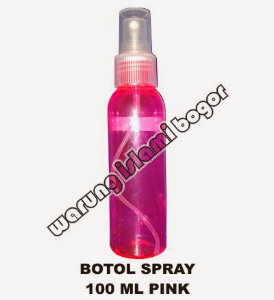 Jual Botol Spray 100ml Warna Pink