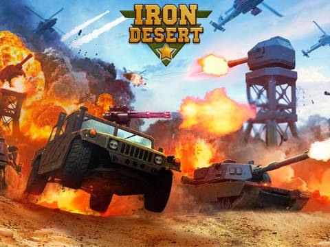 Iron Desert Gameplay