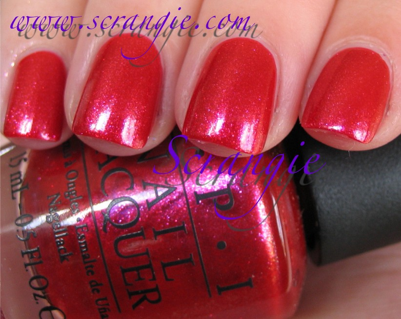 scrangie  opi the muppets collection holiday 2011 swatches and review