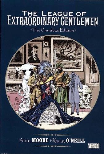 livro The League of Extraordinary Gentlemen Omnibus