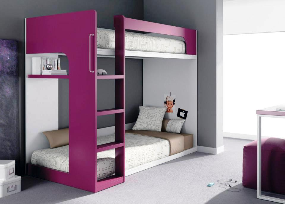 muebles juveniles dormitorios infantiles y habitaciones juveniles en madrid literas fijas. Black Bedroom Furniture Sets. Home Design Ideas