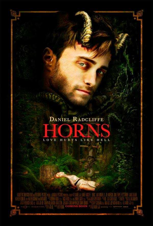 SDCC`14 Poster de 'Horns' con Daniel Radcliffe