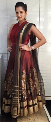 Sania Mirza Spotted At Big Boss