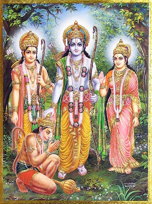 Picture of Lord Rama Sita Lakshman Hanuman