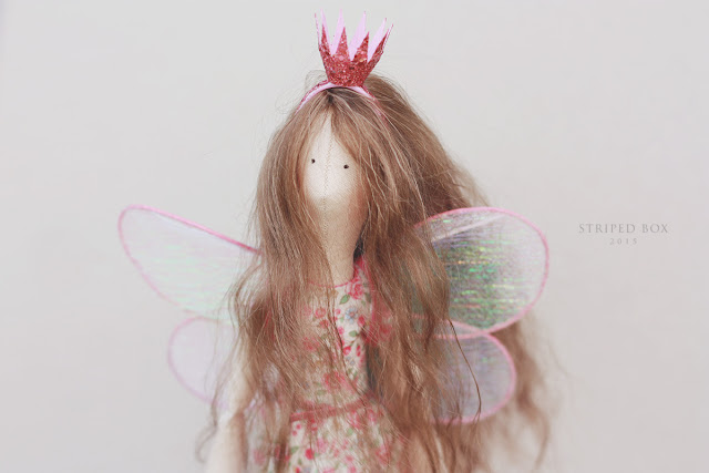 портретная кукла по фотографии фея