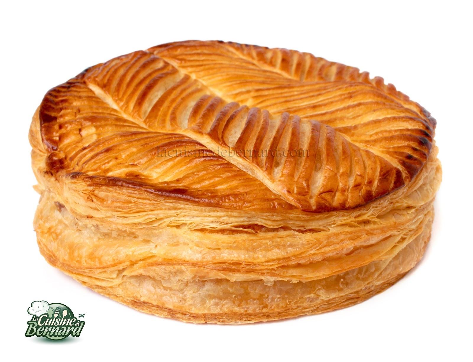 La cuisine de bernard galette des rois aux pralines roses - Galette des rois herve cuisine ...