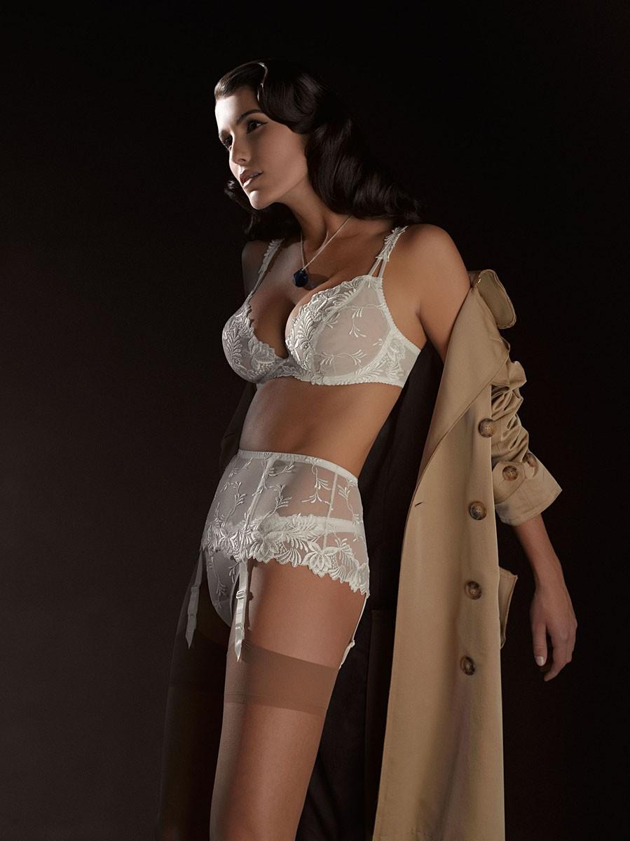 lingerie models nelleke verkaart models prima donna 2009 collection