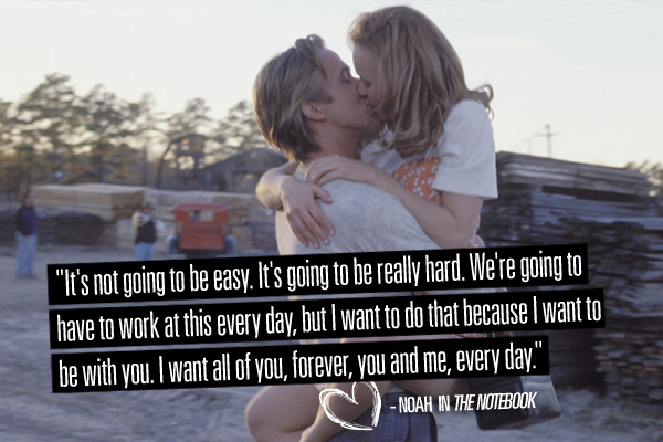 Notebook Quotes | 30 Ultra Romantic The Notebook Quotes By Nicholas Sparks Love