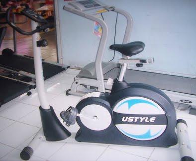 Alat Fitness Murah Sepeda Statis