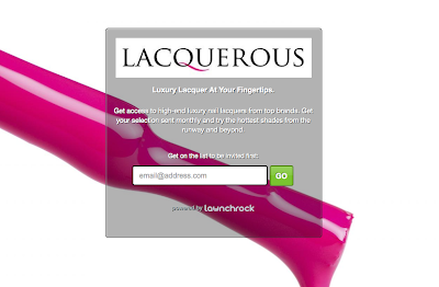 New Monthly Subscription Box Alert! Lacquerous - Nail Polish Beauty Box!