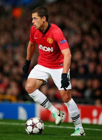 Javier Hernández Man Utd Striker profile 20132014