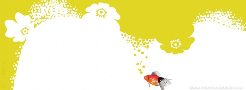 Orange Fish Facebook Timeline Cover