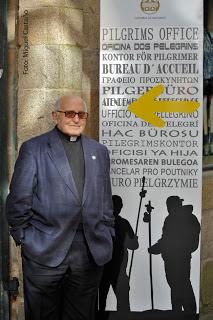 D. Genaro, Director de la Oficina del Peregrino.