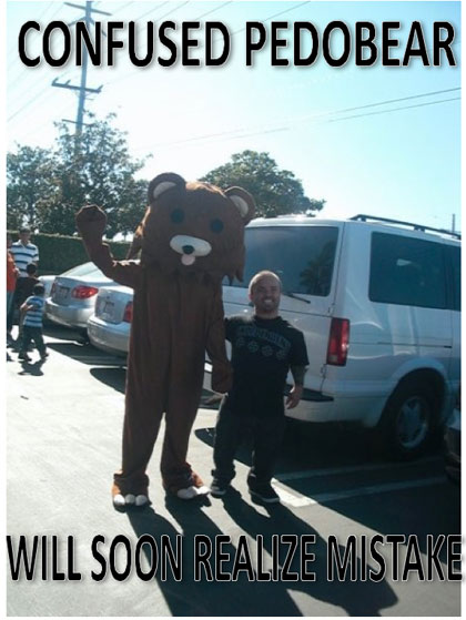 Confused Pedobear - Will Soon Realize Mistake