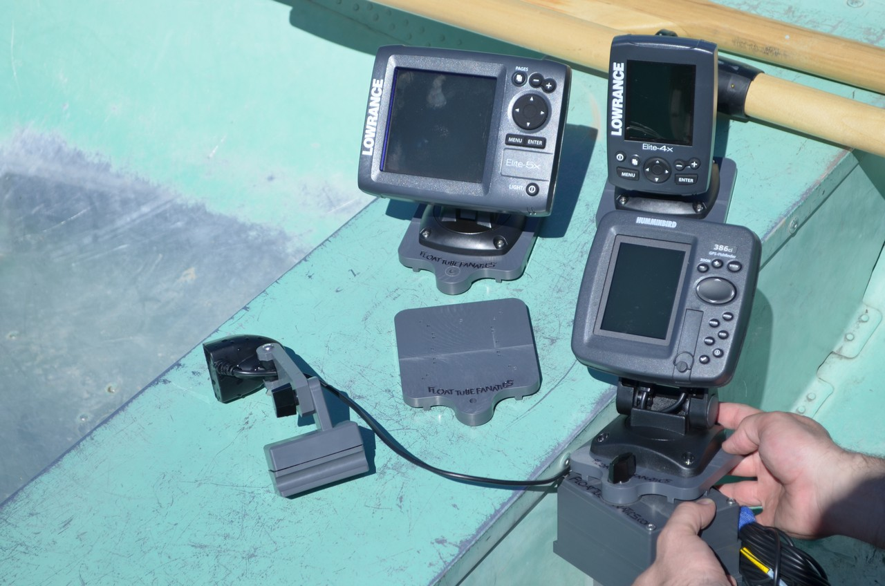 Fish finder and transducer mounting solutions new website for Fish finder transducer