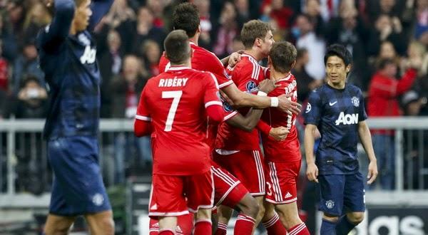 Red Devil Gagal Bendung Keperkasaan Bayern