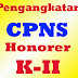 Skema Penetapan Tanaga Honorer Menjadi CPNS Yang Tidak Dibiayai APBN/APBD