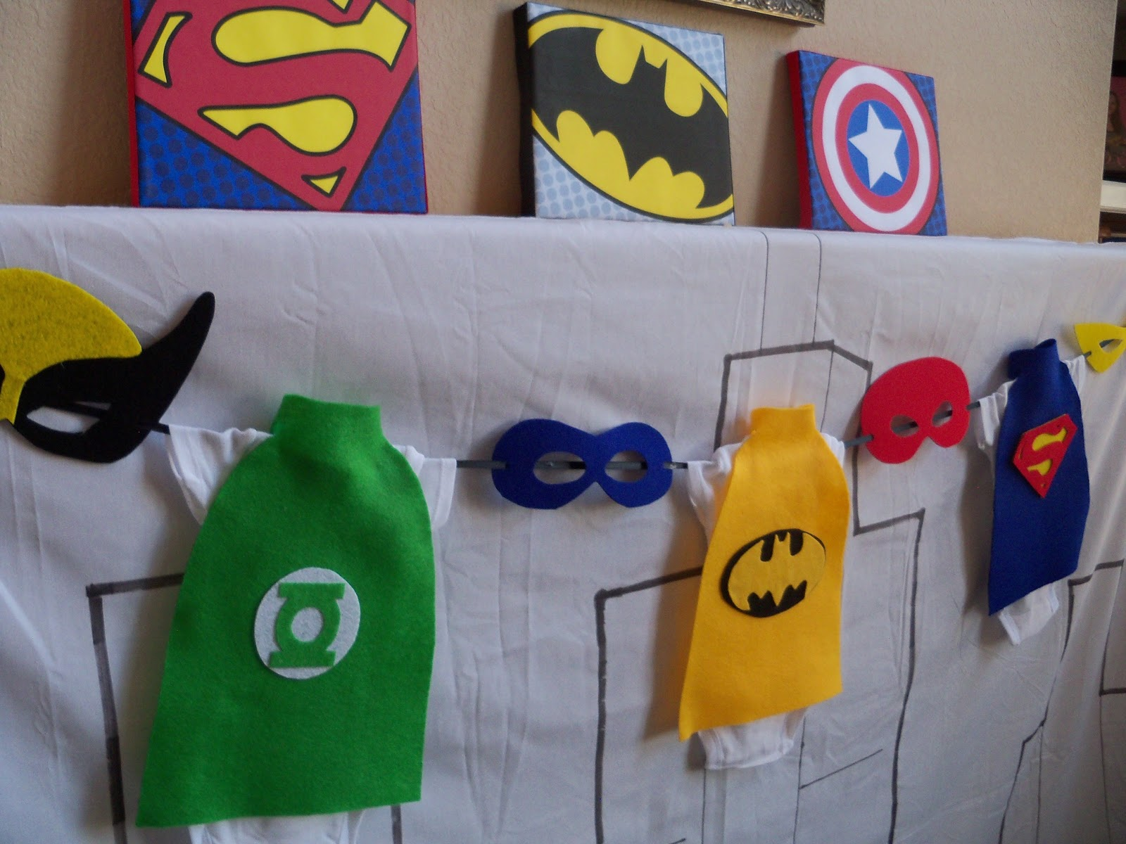 Superhero Baby Shower