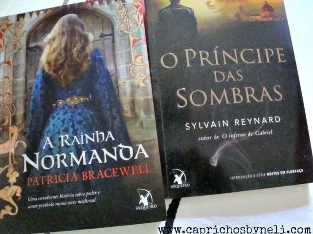 Rainha Normanda, O príncipe das sombras, Editora Arqueiro